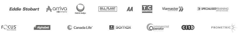 Some of the companies we've worked with include Eddie Stobart, Xerox, Alphabet, Canada Life, Bill Plant, and more!